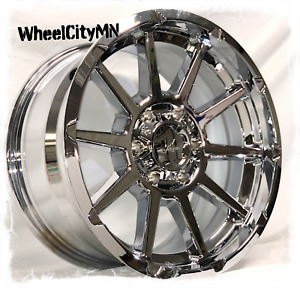 18 X9 Inch Chrome Vrock Vr13 Tactical Wheels Fits Ford F150 6x135 20 New 4x