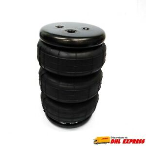1 Universal Triple Bellow Air Bag 2 600lbs Spring lift ride Suspension Lower Car