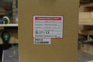 Teco Jnev 203 h1f 3hp Vfd Single Phase To Three Phase