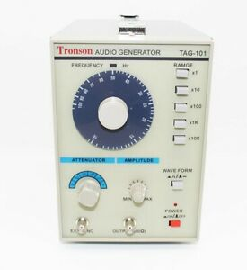 Low Frequency Audio Signal Generator Signal Source 10hz 1mhz Tag 101 110 220v
