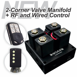 New Air Ride Suspension 2 Corner Valve Manifold Rf Wired Control Best Price