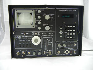Rare Aie Measurements Model Fm 110 Communication Service Monitor With Manuals