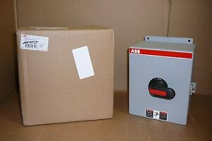 Nf632 6pb6c11 Abb Asea Brown Boveri New In Box Disconnect Switch Nf6326pb6c1