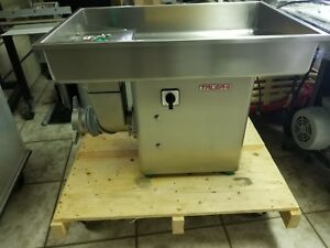New Meat Grinder Talsa 32 Head 3h p 3 Phase All Stainless Steel