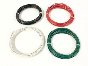16 Gauge Tffn Tewn Wire 600v Copper Ground Wire Black Red White Green 100 Ft Ea