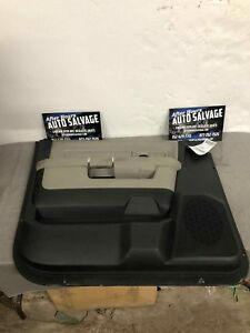 Fr Door Trim Panel Dodge Pickup 1500 Left 09