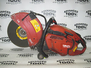Hilti Dsh 700 x 14 Gas Powered Hand Held Concrete Saw With Water Hook Up 70cc