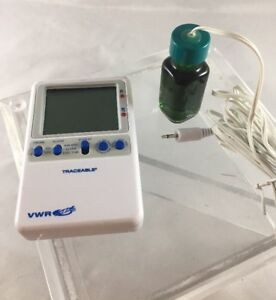 Vwr Traceable Digital Thermometer 89094 748 W 1 Probe fast Free Shipping B33