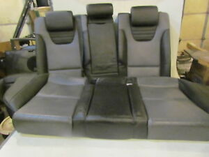 2006 Audi S4 25quattro Grey black Recaro Rear Seat Set Read