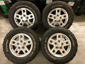 2013 2017 Toyota Tundra Stock Wheels And Cooper Tires Lt275 65 18 Used