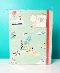 Spartina 449 Beach Tropical Mermaid Themed Weekly Planner 2018 2019 Island Toile