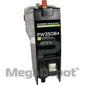 Power Wizard Pw350b D cell 12v Battery Electric Fence Charger