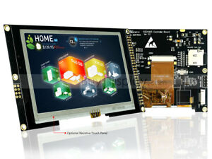 Resistive Touchscreen 4 3 Inch 800x480 Tft Lcd Display Module W ssd1963 tutorial