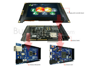 Arduino Shields 4 3 800x480 Tft Lcd Display For Mega Due W library ssd1963