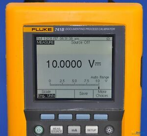 Fluke 741b Documenting Process Calibrator Nist Calibrated With Warranty