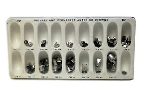 Dental Primary And Permanent Anterior Crowns