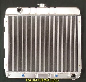 New 3 Row Aluminum Radiator 70 71 72 Dodge Dart Plymouth Valiant Duster V8