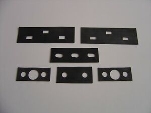 1942 1946 1947 1948 Chevrolet Convertible Trunk Hinge Pads 6 Pc New