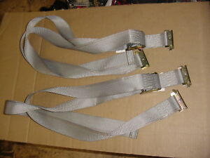 Pair Of E Track Cam Straps 8 Truck Trailer Enclosed Cargo Van Tie Downs