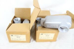 4 Nib Nos Crouse hinds Condulet Conduit Outlet Body 1 1 2 Lb 59 Form 9 Body
