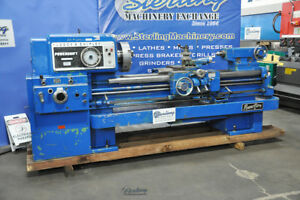 20 1 2 X 54 Used Lodge Shipley Powerturn Lathe Great For Heavy Duty Turning