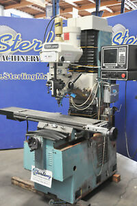 10 X 50 Used Southwestern Industries Trak Dpm Cnc 3 Axis Vertical Bed Mill Tra