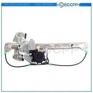Power Window Regulator For 2000 05 Cadillac Deville Rear Left With Motor