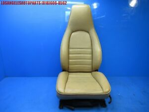 Porsche 911 964 944 951 968 Front Right Passenger Side Tan Leather Power Seat