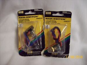 2 Hubbell 6448rac Rotary Redi switches