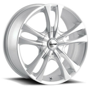 4 New 14 Inch Touren Tr22 14x6 4x100 4x114 3 40mm Silver Wheels Rims
