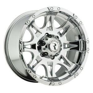 4 new 18 Inch Raceline 983 Raptor 18x9 6x139 7 6x5 5 6mm Chrome Wheels Rims