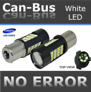 Samsung Canbus Led 1156 57w Projector Lense White Xenon Backup Light Bulbs T92