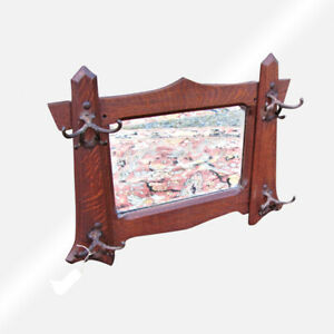 Antique Arts And Crafts Shop Of The Crafter Wall Mirror W4350 Stickley Era