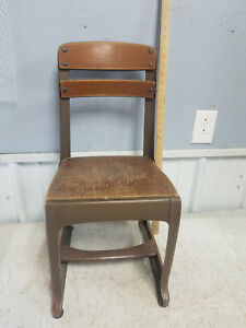 Vintage 50 S Children S School Chair American Seating Company Envoy 13