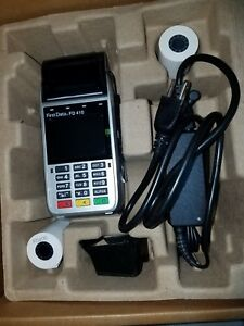 First Data Fd410 Wireless Terminal only Used 2 Times