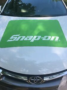 Snap On Green Non slip Fender Cover
