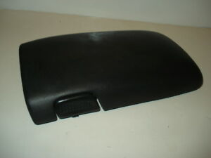 97 02 Chevy Camaro Firebird Arm Rest Console Cover Lid Pad Black Latch Button