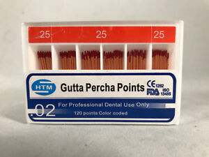 Htm Gutta Percha Points 0 04 0 06 0 02 Special Tapered All Sizes Available