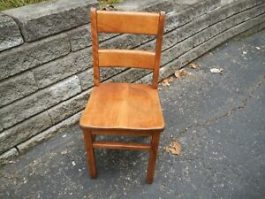 Vintage 50 S Children S School Desk Chair