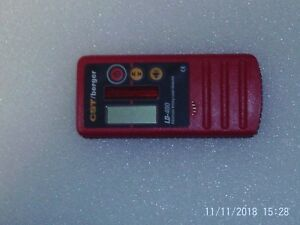 Cst berger Laser Receiver Detector Works With All Lasers