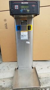 Bunn Itb Dual Commercial Tea Brewer Maker Iced Ice Dispenser Infusion Ddil