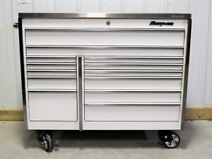 Snap On Krl1022 White Tool Box Toolbox Stainless Steel Top