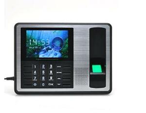 Generic Self service Fingerprint Time Attendance With 4 Inch Tft Screen And 1000