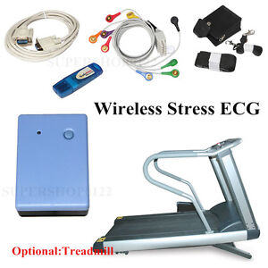 Contec8000s Stress Ecg Analysis System Print Ecg Waveform Reflect Patient Heart