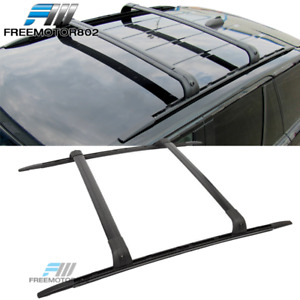 Fits 06 13 Land Rover Range Rover Sport L320 Cross Bar Roof Rack Rails Oe Style