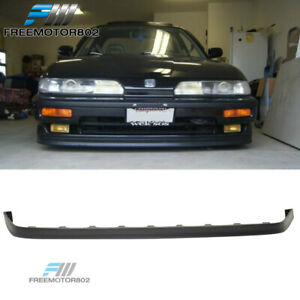 Fit 90 91 Acura Integra 3dr 4dr Pu Front Bumper Lip Spoiler Jdp Style