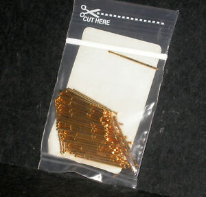 Idi Test Pogo Pins S 100 tx 5 5 g New Lot Of 100 Gold