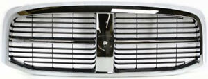 Chrome Grill Assembly For Dodge Ram 1500 Ram 2500 Ram 3500 Grille Ch1200282