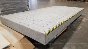 Tested 8 Optical Granite Inspection Table Newport Isolation Surface Plate
