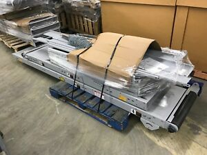 18 Hytrol Belt Conveyer System 20 Wide Belt 24 Package Handling Width